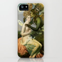 """The body, the soul and the garden of love"" iPhone Case"