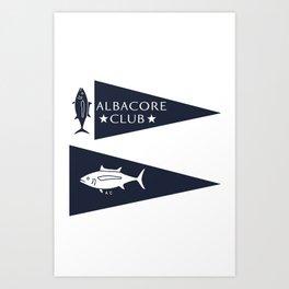 Albacore Club (CHINATOWN) Art Print