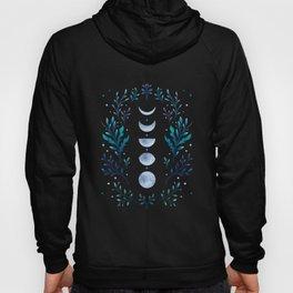 Moonlight Garden - Blue Hoody