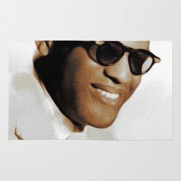 Ray Charles, Music Legend Rug