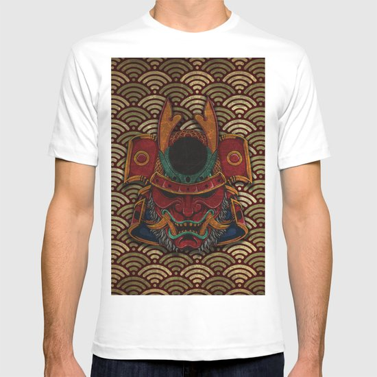 samurai mask T-shirt