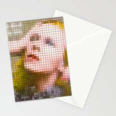 Bowie : Hunky Dory Pixel Album Cover Stationery Cards