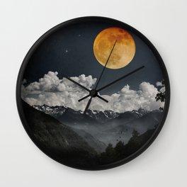 Moon Melodies Wall Clock