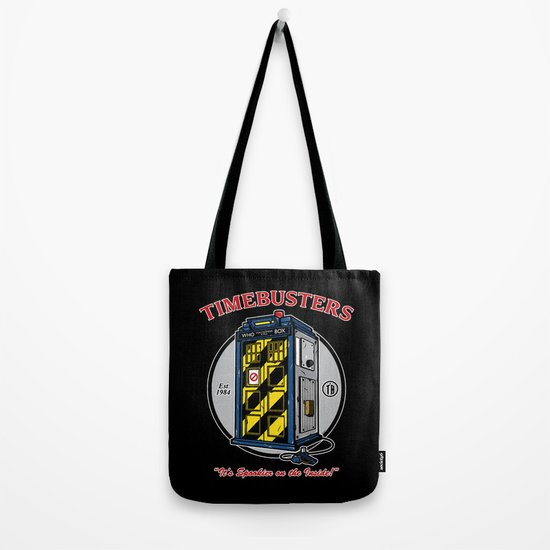 Timebusters Tote Bag