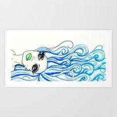 Lady of the Sea Art Print