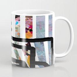 Red Swirl Line Coffee Mug
