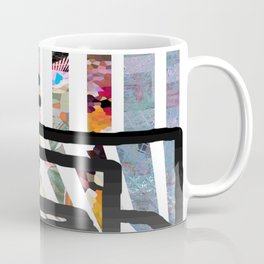 Red Swirl Line Coffee Mug