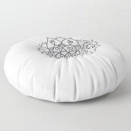 Not The End Floor Pillow