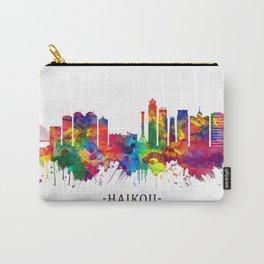 Haikou China Skyline Carry-All Pouch