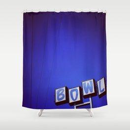 San-Hi Lanes - San Bernadino, CA Shower Curtain