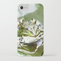 frog iPhone & iPod Cases featuring frog by Karl-Heinz Lüpke