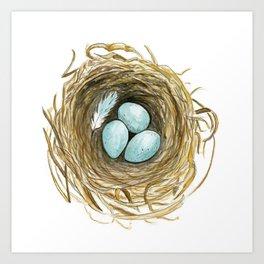 Nest 3 Art Print