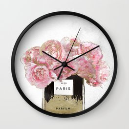 Pink Scented Wall Clock