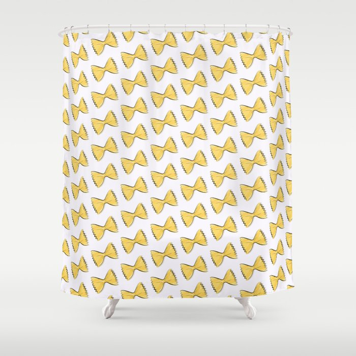 Pasta bow Shower Curtain by milatoo | Society6