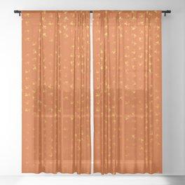 virgo zodiac sign pattern yo Sheer Curtain