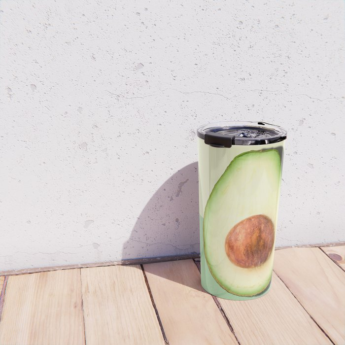 Avocado Half Slice Travel Mug