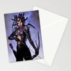 Lady Assassin With a Bow Stationery Cards