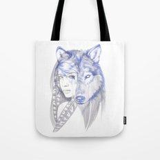 She Wolf Tote Bag