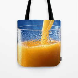 A Glass of Orange Juice Tote Bag
