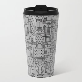 Bot City Travel Mug