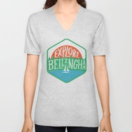 Explore Bellingham Unisex V-Neck