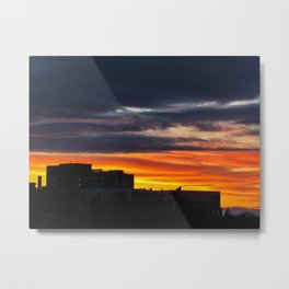 MMC Sunset Silhouette (3) Metal Print