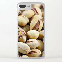 Pistachios Clear iPhone Case