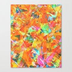 papier-machete Canvas Print