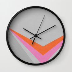 Sun on the wall Wall Clock