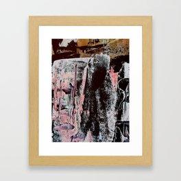 Untitled Texture 1 Framed Art Print