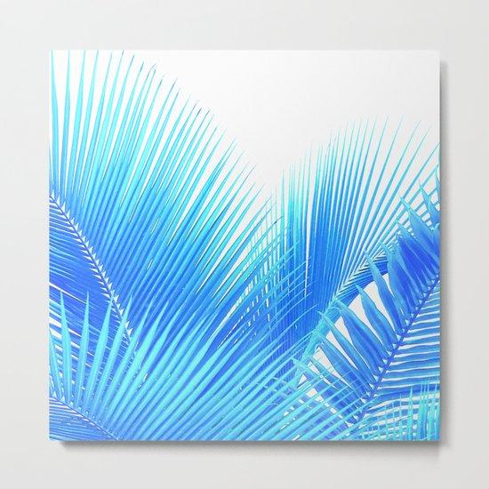 Winter Palm Metal Print