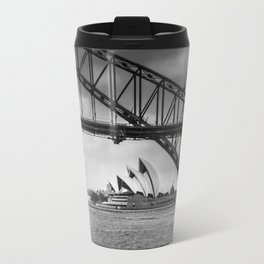 Bridge's, Bird's and Opera Houses Travel Mug