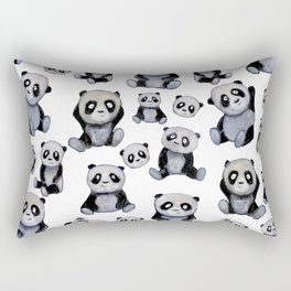 Panda Baby Rectangular Pillow