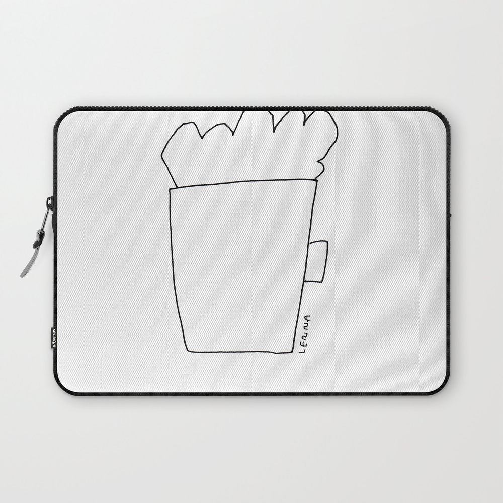 A Cup Of Cappuccino And Lots Of Love For You - Cof… Laptop Sleeve LSV8848268