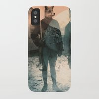 michael jackson iPhone & iPod Cases featuring Fox Hunt by Chase Kunz