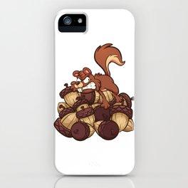 Hoarding Squirrel iPhone Case