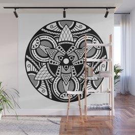 Simple Mandala 4 Wall Mural
