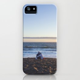 Sunset for Two iPhone Case