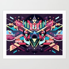 BirdMask Visuals - Sparrowhawk Art Print