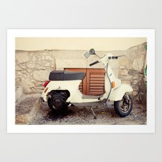 Going for a Ride? Art Print