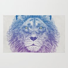 Face of a Lion Rug