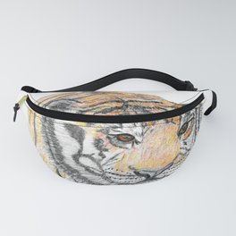 Prowling Tiger Fanny Pack