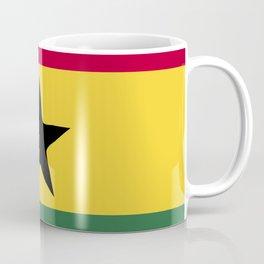 Ghana flag emblem Coffee Mug