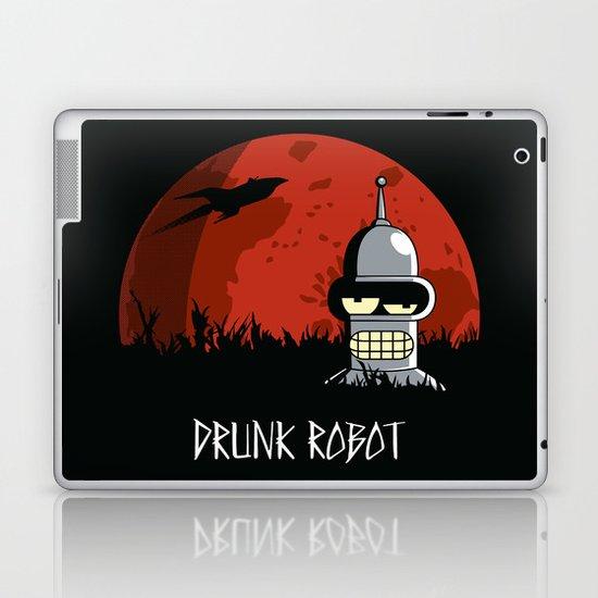Drunk Robot Laptop & iPad Skin