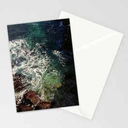 shore cliffs Stationery Cards