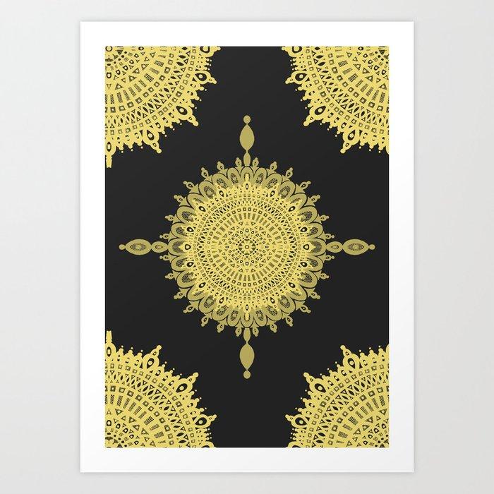 The Golden Sun Art Print