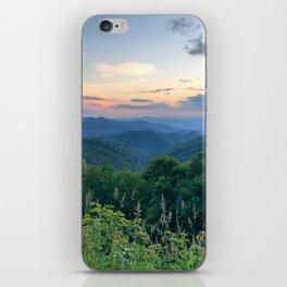 Blue Ridge Parkway 3 iPhone Skin