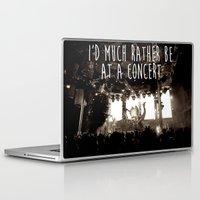 concert Laptop & iPad Skins featuring Concert life by Parker Hoge