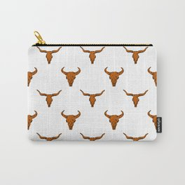 Longhorns Texas University football varsity college sports fan Carry-All Pouch