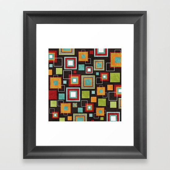 Oh So Retro! Framed Art Print
